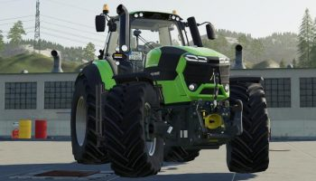 DEUTZ SERIES 9 UPDATE V1.0.1.0 для Farming Simulator 2019