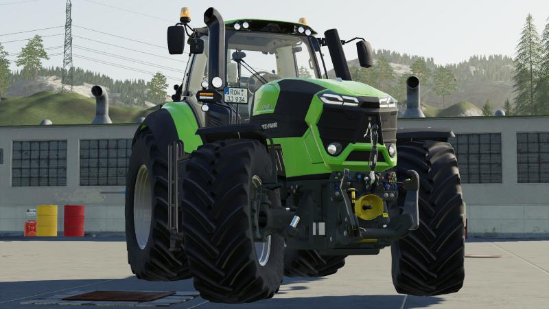 DEUTZ SERIES 9 UPDATE V1.0.1.0 для Farming Simulator 2019