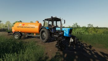 БЕЛАРУС МТЗ-82.1 V1.1.2 для Farming Simulator 2019
