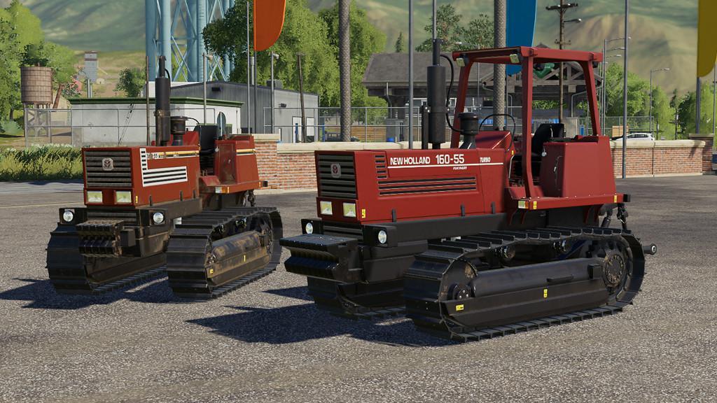 FIATAGRI 160-55 V1.0.0.0 для Farming Simulator 2019