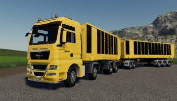 MAN Cat TGX v1.0.0.0 Farming Simulator 19 для Farming Simulator 2019