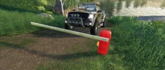 Шлагбаум для Farming Simulator 2019