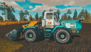 Погрузчик ХТЗ Т-150К для Farming Simulator 2019