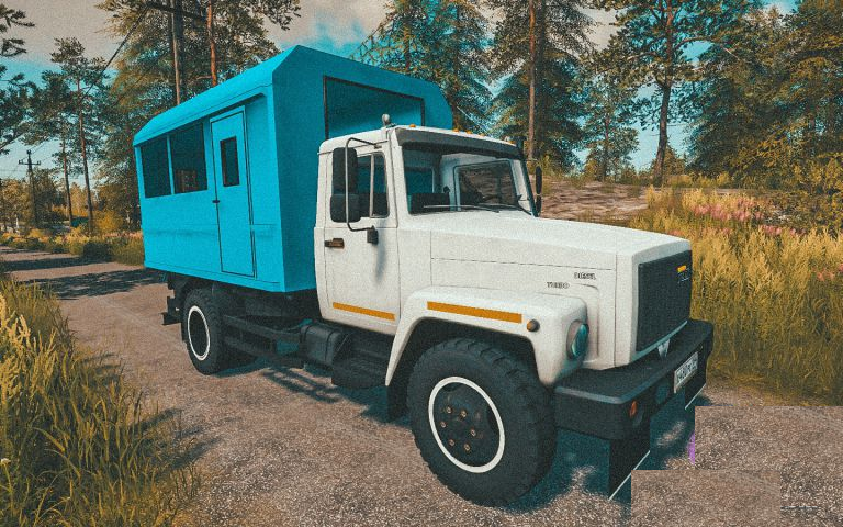 ГАЗ-САЗ-35071 для Farming Simulator 2019