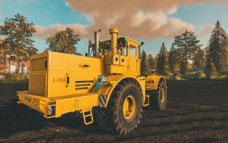 Кировец К-700А для Farming Simulator 2019