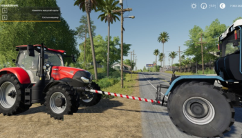 Жесткая сцепка для Farming Simulator 2019