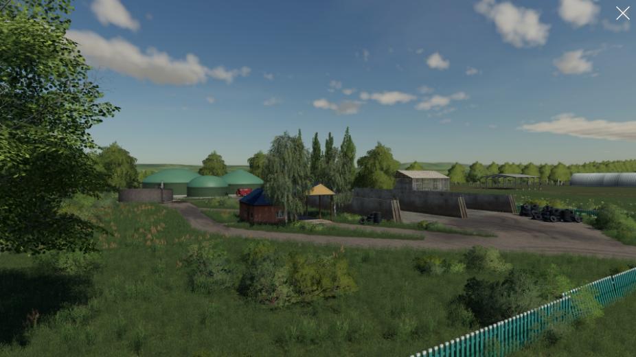 Карта АгроМаш для Farming Simulator 2019