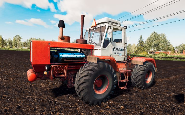 Трактор ХТЗ Т-150К для игры Farming Simulator 2019