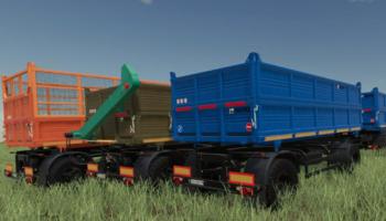 Прицеп НЕФАЗ для Farming Simulator 2019