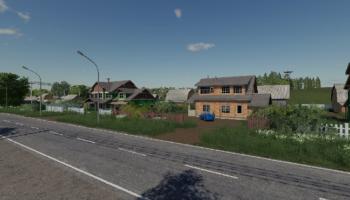 Село Бурлаки для Farming Simulator 2019