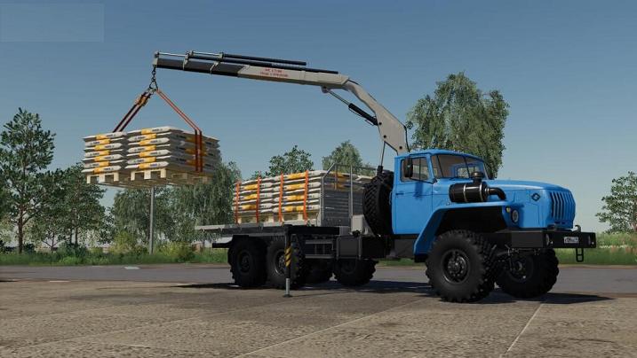Урал для Farming Simulator 2019