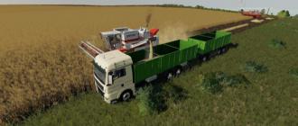 Зерновоз для Farming Simulator 2019