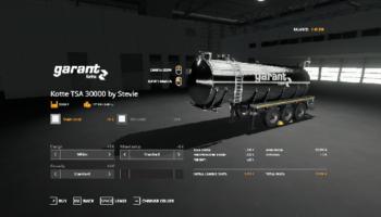 Цистерна для Farming Simulator 2019
