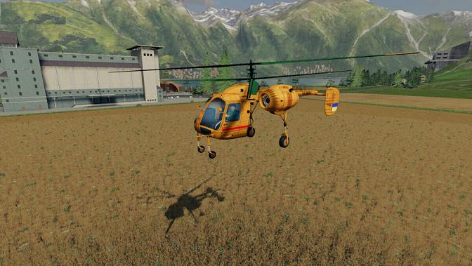 Вертолет для Farming Simulator 2019