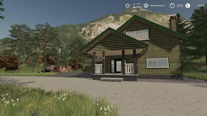 Дом v1.7 для игры Farming Simulator 2019