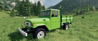 Бразильский пикап v1.1 для игры Farming Simulator 2019