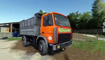 Самосвал МАЗ 6422 для Farming Simulator 2019
