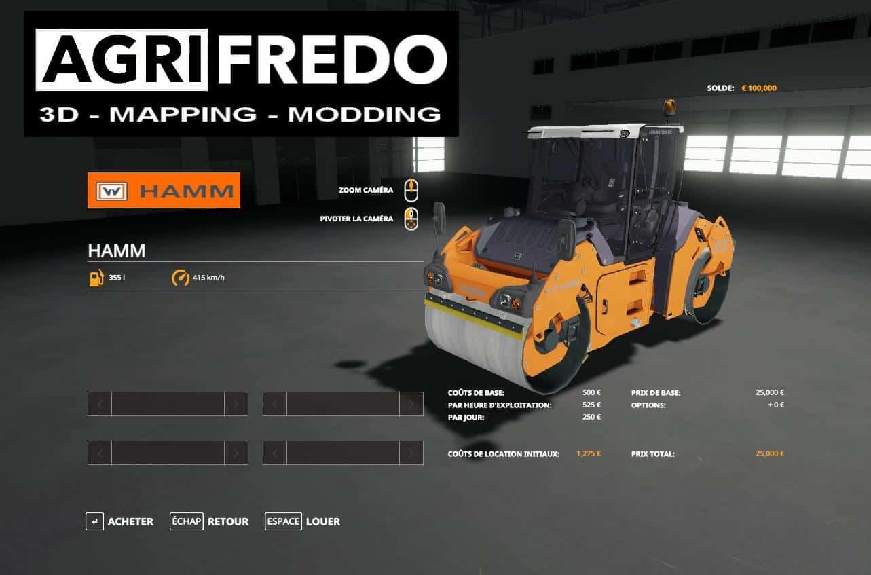Каток для Farming Simulator 2019