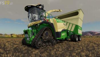 Krone Big X 1180 Cargo для FS 19