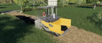 Асфальтоукладчик для Farming Simulator 2019