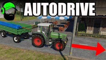 Скачать мод AutoDrive для Farming Simulator 2019