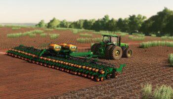 Большая сеялка для Farming Simulator 2019