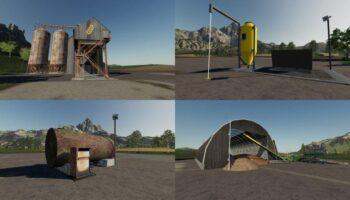 Хранилища для Farming Simulator 2019