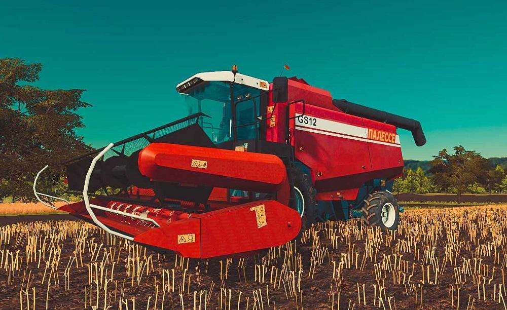 Палессе GS12 для Farming Simulator 2019