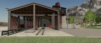 Пилорама для Farming Simulator 2019