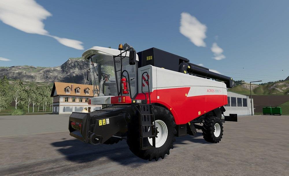 Акрос для Farming Simulator 2019