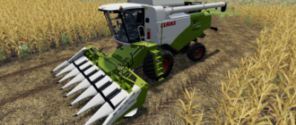 Комбайн Claas Tucano 580 v1.0 для Farming Simulator 2019