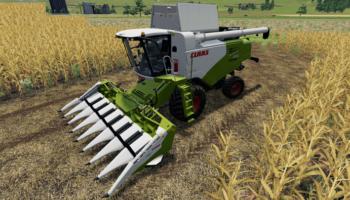 Комбайн Claas Tucano 580 v1.0 для Farming Simulator 2019
