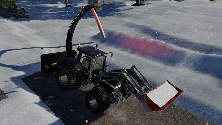 Снег для Farming Simulator 2019