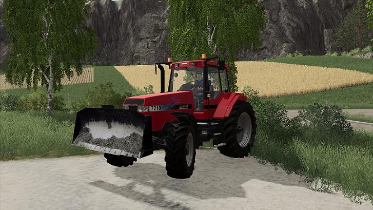 Отвал для силоса v1.1 для Farming Simulator 2019