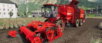 комбайн Holmer Terra v1.0 для Farming Simulator 2019