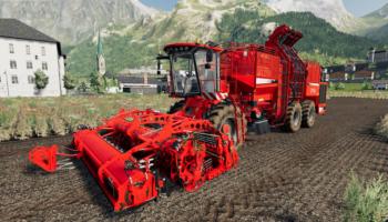 комбайн Holmer Terra v1.0 для Farming Simulator 2019