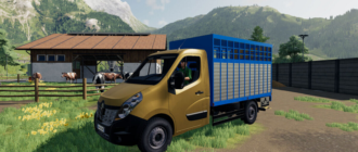 Renault Master v1.0 для Farming Simulator 2019