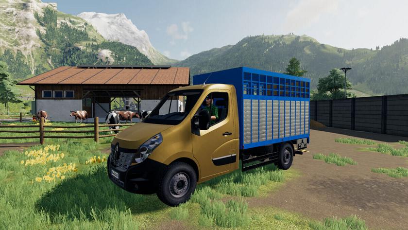Renault Master v1.0 для Farming Simulator 2019