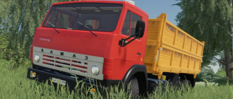 Kamaz 55102 v1.0 для Farming Simulator 2019