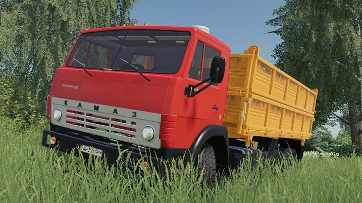 Kamaz 55102 v1.0 для Farming Simulator 2019