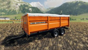 Massey Ferguson v1.0 для Farming Simulator 2019