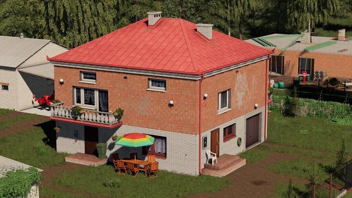 Дом для Farming Simulator 2019