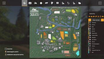 Карта Молоково для Farming Simulator 2019