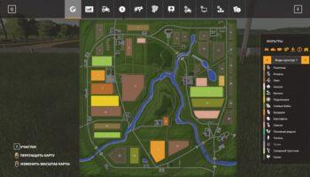 Карта Сосновка для Фарминг Симулятор