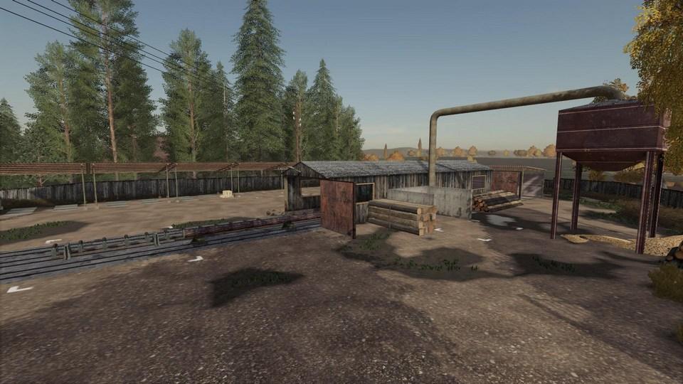 Зеленая долина для Farming Simulator 2019