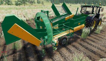 Lizard Z 644 - комбайн для уборки картофеля Farming Simulator