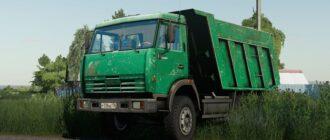 Мод на КамАЗ-65115 для Farming Simulator 2019