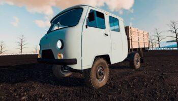 Мод на УАЗ 390945 для Farming Simulator 2019