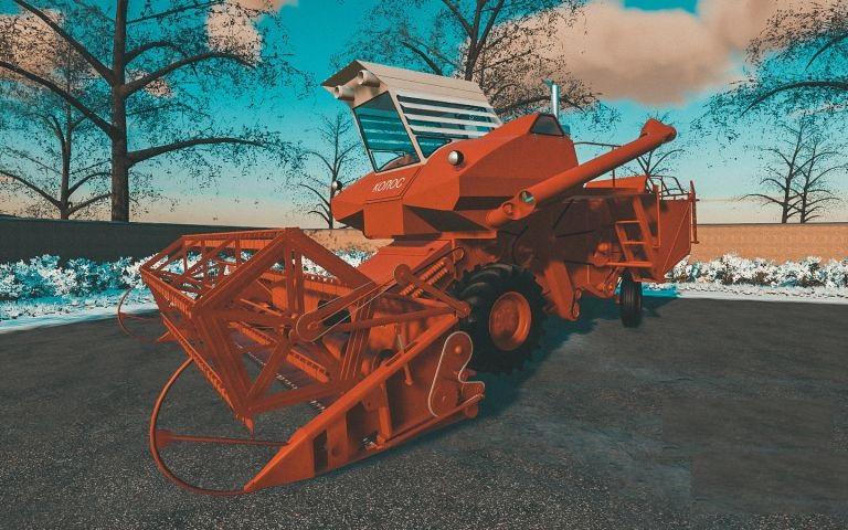 СК-6 Колос для Farming Simulator 2019