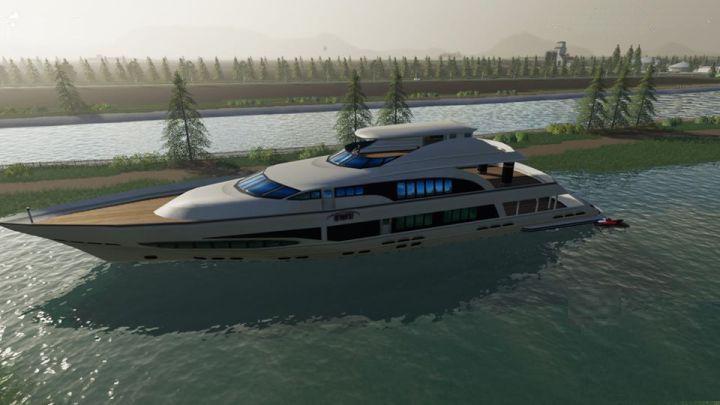 Яхта для Farming Simulator 2019